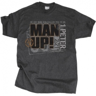 Christian T-Shirt - Man Up